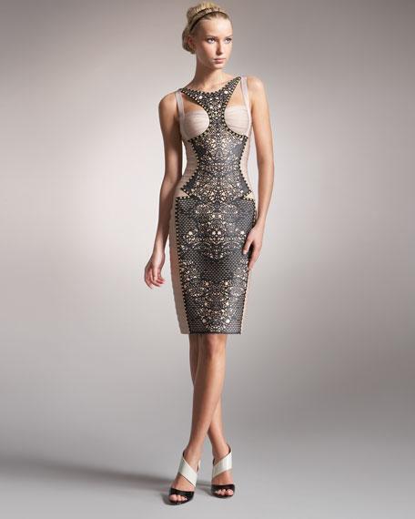 Combo Lace Dress