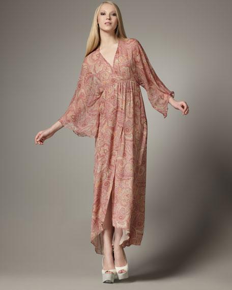 Hayley Pink Kimono Dress