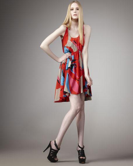 Midsummer's Bloom Tank Dress
