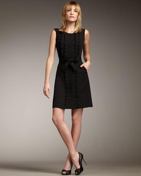 Martha Tie-Waist Dress