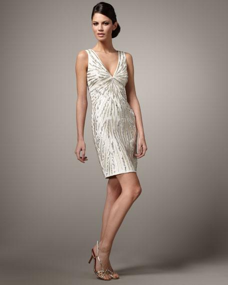 Tiger-Applique Dress