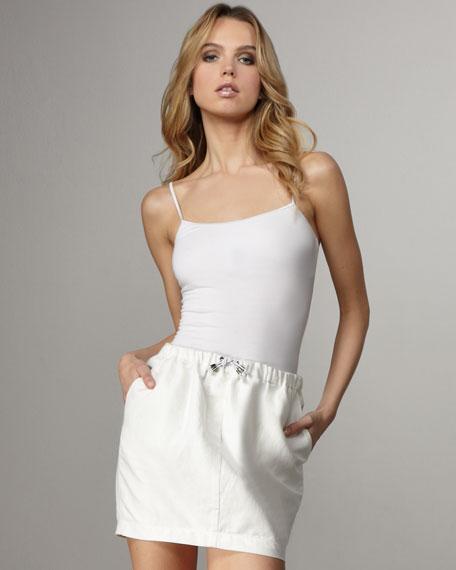Crawford Linen-Cotton Skirt