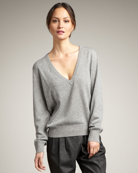 Cashmere Batwing Sweater