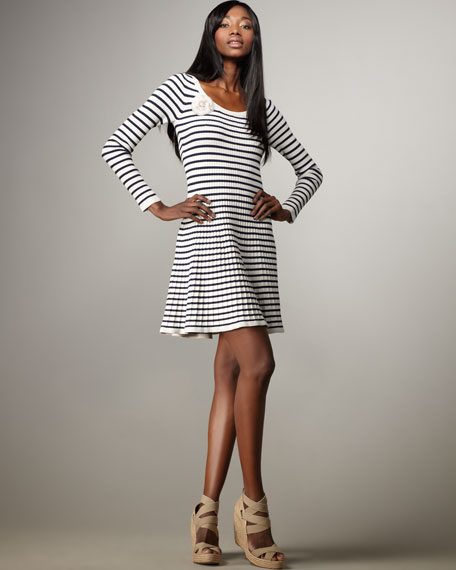 Striped Ballet Dress