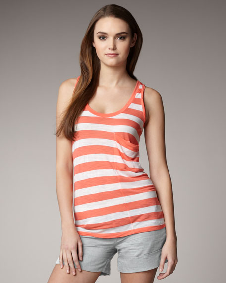 Rugby-Stripe Tank
