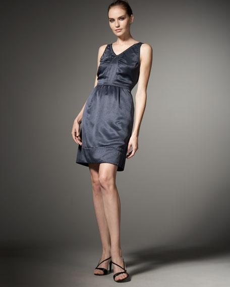 Nina Sateen Dress