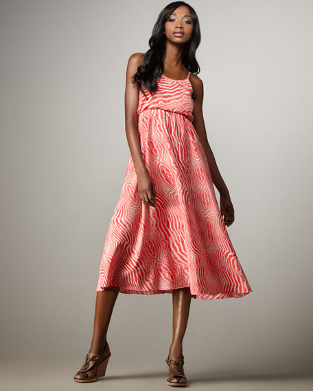 Pilar Blouson Tank Dress