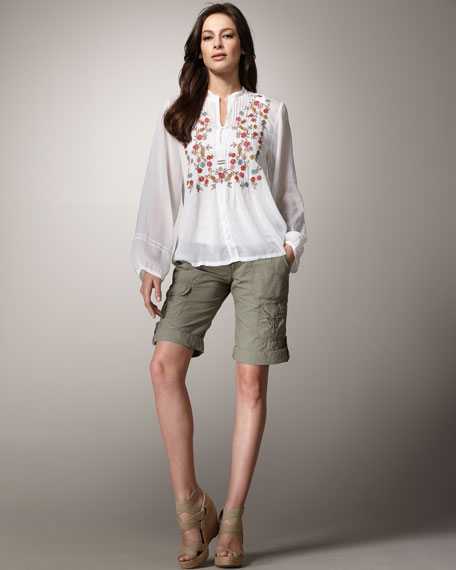 Caroline Embroidered Tunic, Women's