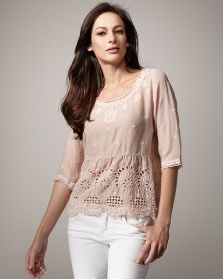 Hills Embroidered Tunic