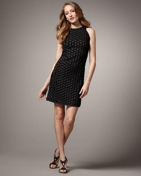 Sleeveless Rosette Dress