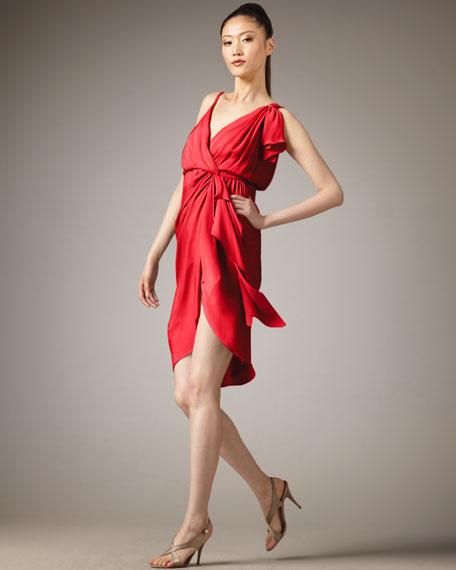 Melanie Draped Dress