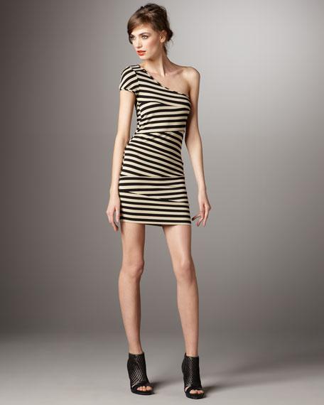 Barbara One-Shoulder Dress