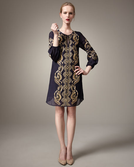 Kennedy Embroidered Dress