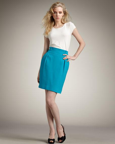janelle skirt, aquamarine