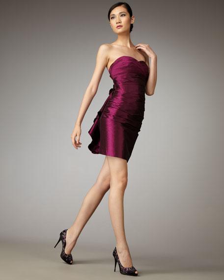 Strapless Bustle Dress