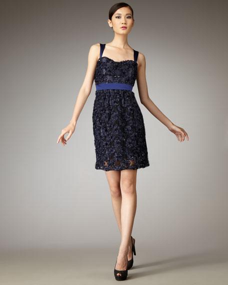 Applique-Detailed Dress