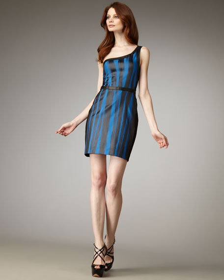 Fournier One-Shoulder Dress