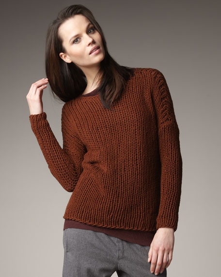 String-Knit Sweater