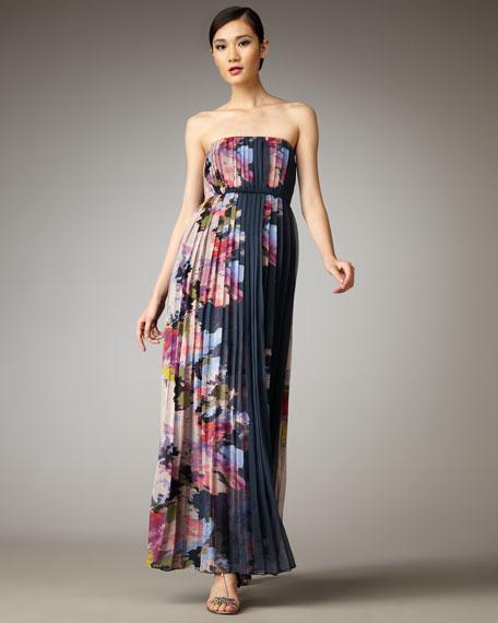 Aurora Plisse Maxi Dress