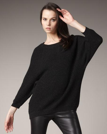 Hi-Low Thermal Sweater