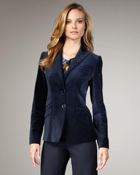 Kimberly Velvet Jacket