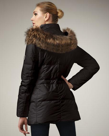Attachable Fur Trim