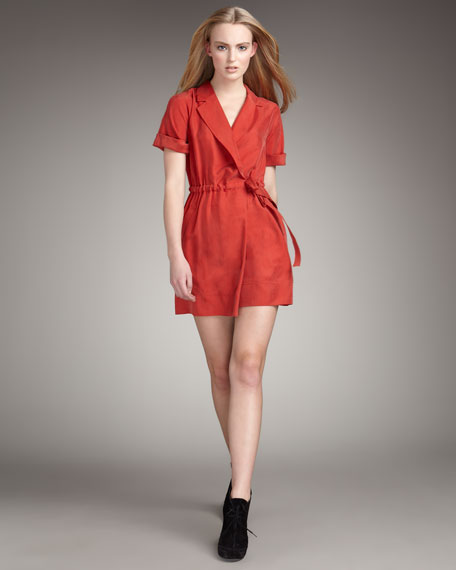 Stevie Silk Wrap Dress