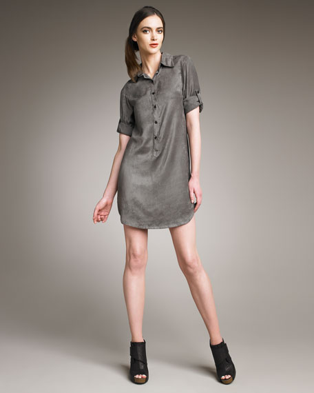 BRADY LONG SHIRT DRESS