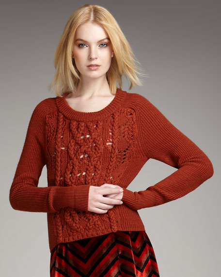 Uma Braided Sweater