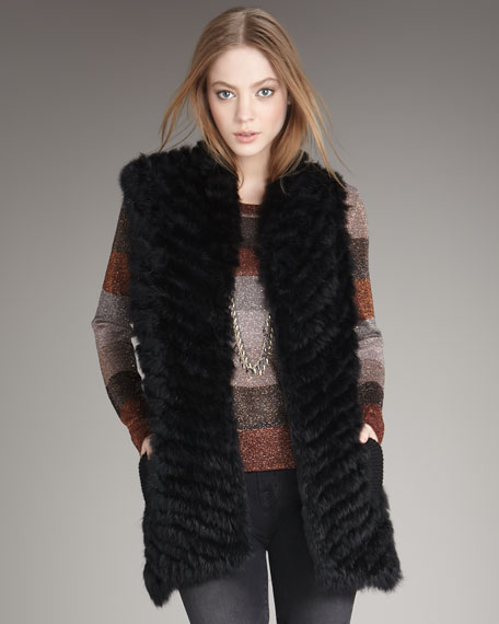 Long Hayworth Vest