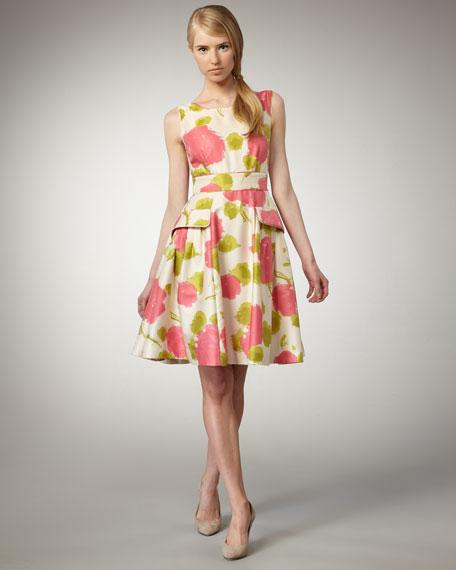 wynne floral-print dress