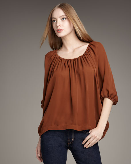 Newbury Peasant Top