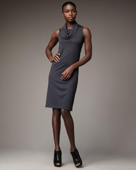 Cowl-Neck Tank Dress