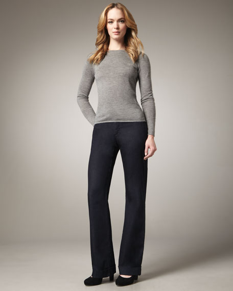 Catherine Waterfall Trouser Jeans