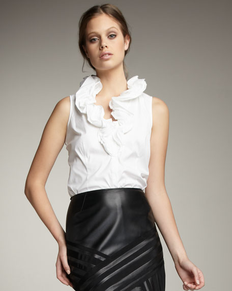 Ruffled Tessa Blouse