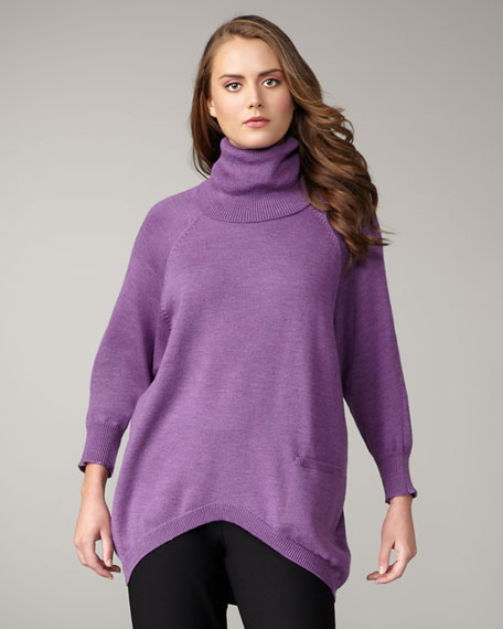 Turtleneck Top, Petite