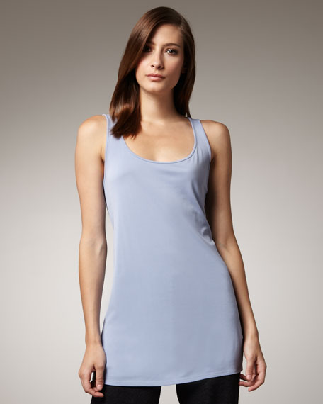 Silk-Jersey Tunic