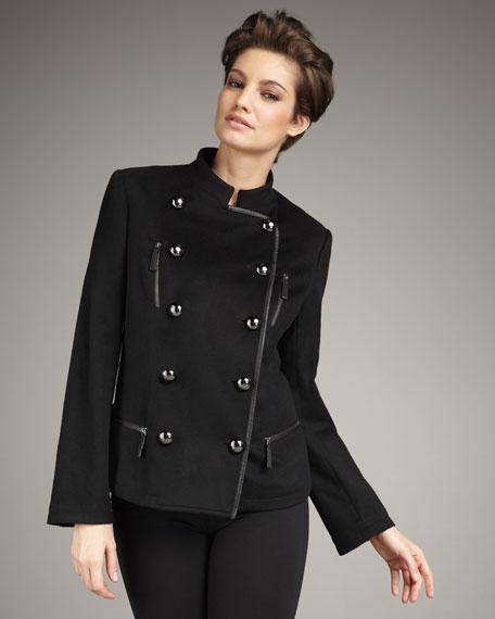 Short Military Coat