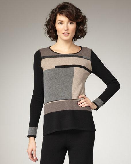 Graphic Cashmere Pullover