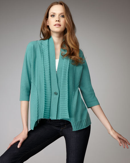 Shooting Star Asymmetric Cardigan