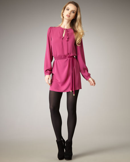 Florane Tie-Waist Minidress