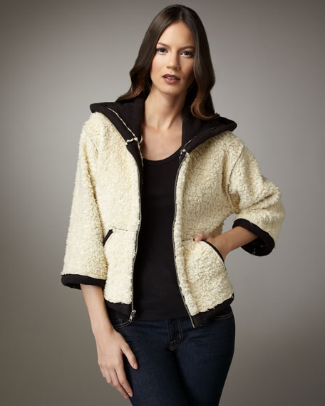 Marpessa Faux-Shearling Jacket