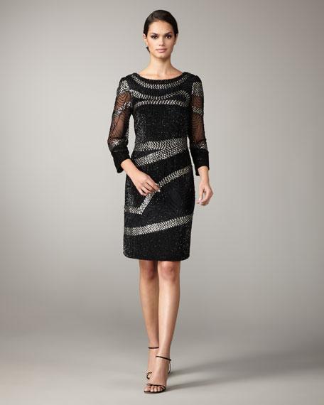 Bead & Sequin Dress