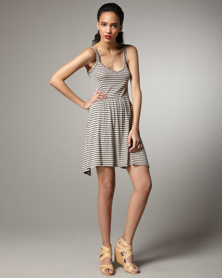 Striped Swingy Dress