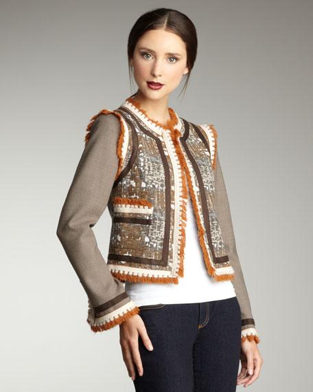 Quincey Fringe Jacket