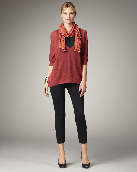Wool Oval Sweater, Petite
