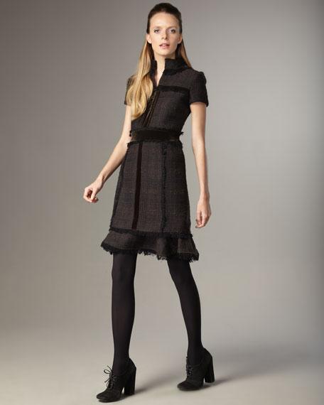 Ackley Tweed Dress