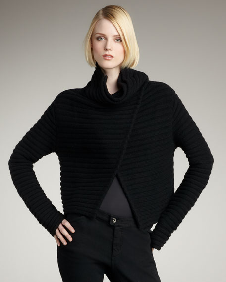 Ribbed Knit Jacket