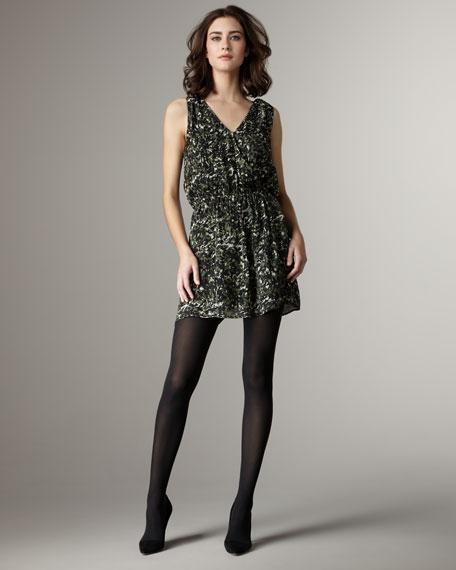 Ossie Printed Silk Dress