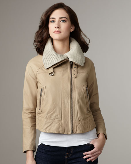 Staci Leather Jacket